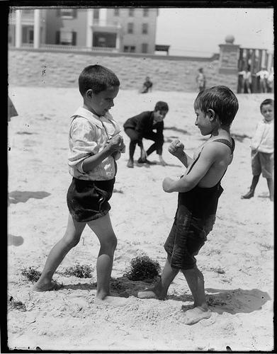 Boys Boxing
