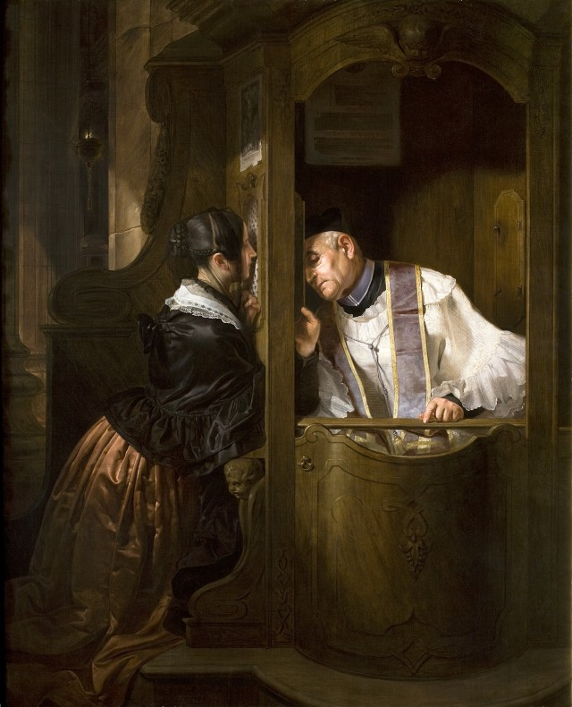 La Confession de Pietro Longhi, vers 1750